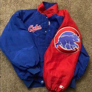 Chicago Cubs starter jacket